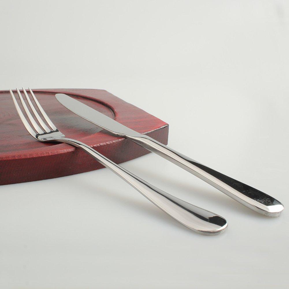 テーブルウェアのセット、食器/カトラリー/テーブルアクセサリー/Cutlery /カトラリーボックス/ステーキ皿/ポータブルUtensils RANGYWR  D B0713XFW75