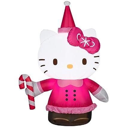 Amazon.com: Gemmy Hello Kitty airblown hinchable: Jardín y ...