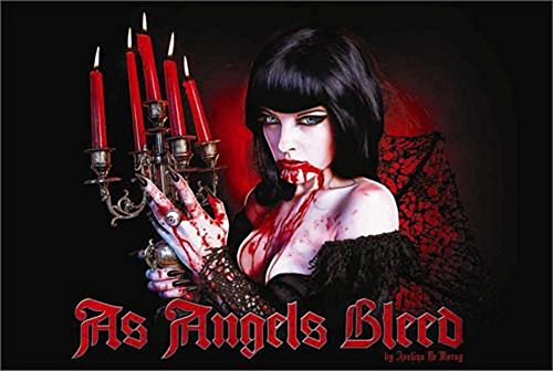 As Angels Bleed Poster by Avelina Demoray 36 x 24in