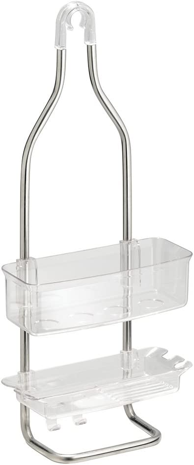 NEW InterDesign Zia Rust Proof Aluminum Bathroom Shower Caddy