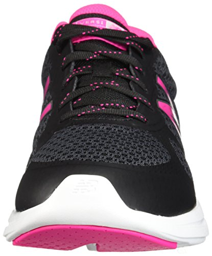 New Balance Women's Versi v1 Cushioning Running Shoe, BlackPink, 5 E US