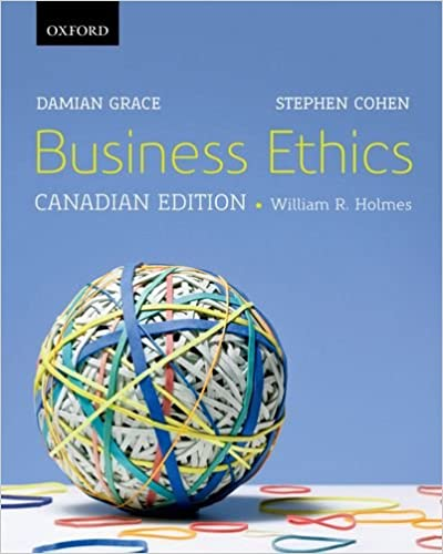 Business Ethics: A Canadian Perspective, Canadian Edition