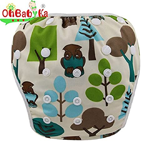 Ohbabyka Couche de bain r/églable r/éutilisable pour b/éb/é gar/çon ou fille