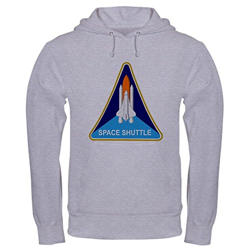 CafePress Space Shuttle Shield - Pullover Hoodie, Classic & Comfortable Hooded Sweatshirt (Insulated Launch Jacket)