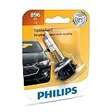 Philips 896 Lámpara Frontal Anti Neblina Halógena Estándar de Repuesto, paquete con 1 pieza