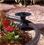 Suncast Resin Garden Hose Guide Spike, Green/Black HS102