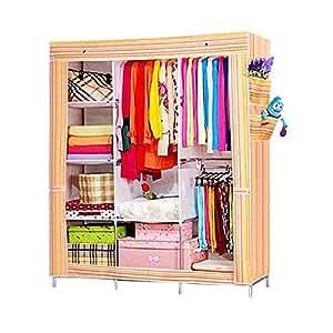 Nex® Portable Storage Organizer Wardrobe Closet U0026 Shoe Rack Assemble Easy  69u0026quot; X 51u0026quot