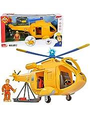 Simba - Brandweerman Sam Wallaby 2 Helicopter, Meerkleurig, vanaf 3 jaar