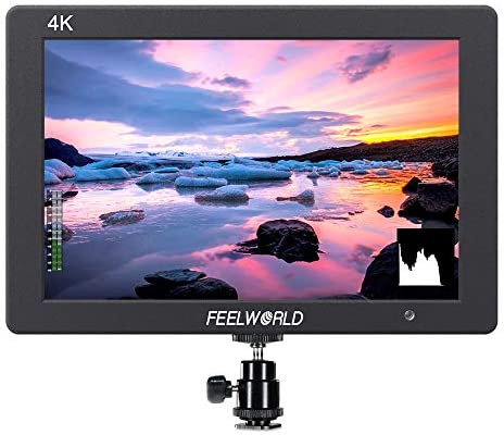 FEELWORLD T7 7 Inch IPS 4K HDMI Camera Field Monitor Video Assist Full HD 1920x1200 Solid Aluminum Housing DSLR MonitorPeaking Focus False Colors