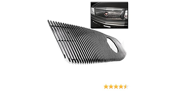 ZMAUTOPARTS For Cadillac Escalade Front Vertical Upper Billet Grille Grill Insert