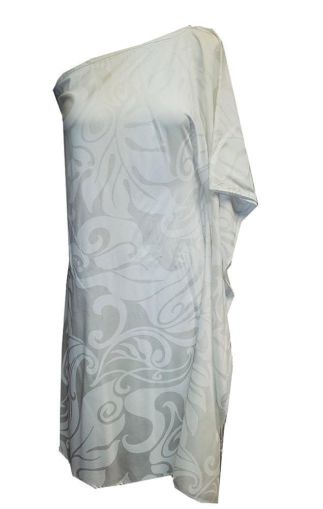 Womens Rayon Hawaiian Hanalei One Shoulder Dress Jade Fashions Inc