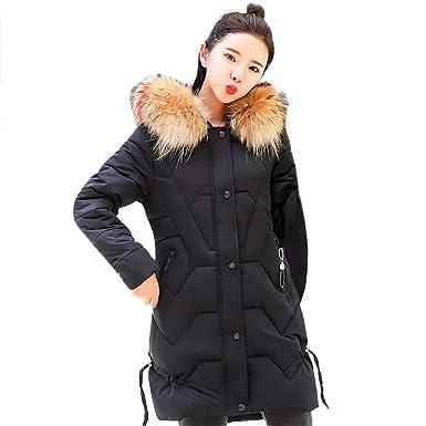 f38e80338 DaySeventh Women Hooded Outwear Warm Coat Long Thicker Fur Collar ...