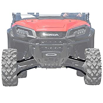Image of SuperATV 1.5' Forward Offset High Clearance A-Arms for Honda Pioneer 1000/1000-5 (2016+) - New UHMW Bushings Included! Chassis
