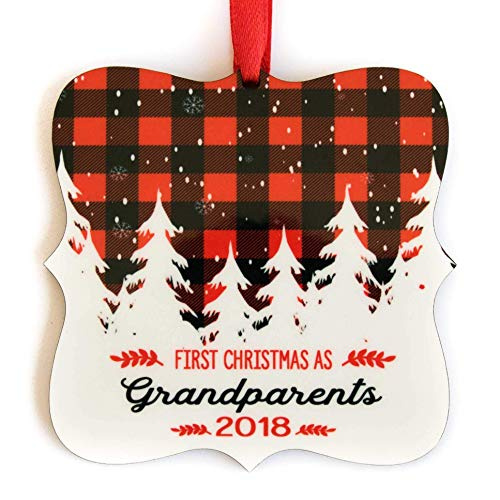 First Christmas as Grandparents Ornament 2018 3