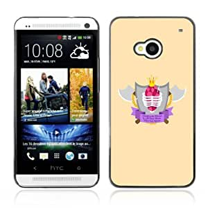 YOYOSHOP [Cool Axe & Shield Badge] HTC One M7 Case