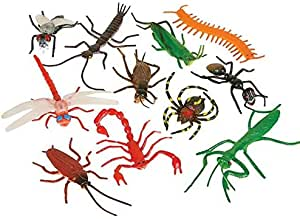 """Rhode Island Novelty 3"""" Insects"""