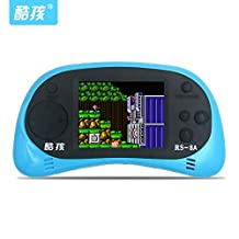 Fancci®RS-8 2.5 inch LCD 260 8bit NES Games Inside Li-On Battery Portable Handheld Video Game Player Console Kids Toys Gift-Light BLUE