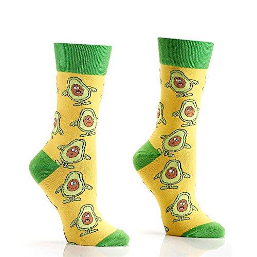 Womens Crew Socks - Avocado