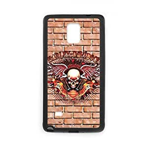 Harley Davidson Samsung Galaxy Note 4 Cell Phone Case Black Fciyr