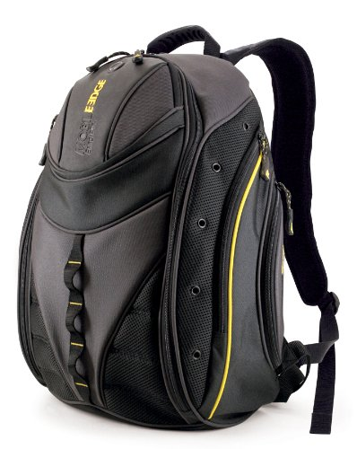 Price comparison product image Mobile Edge Express Backpack- 16-Inch PC / 17-Inch Mac (Black / Yellow)
