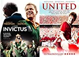 Fantastic Sports Movies - Invictus & United 2-DVD Collection (Clint Eastwood/ Manchester United Premier Football)