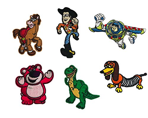 Slinky Collector (Embroidered Iron/sew on Patch Cloth Applique Collectible Disney Patches (ToyStory-Set))