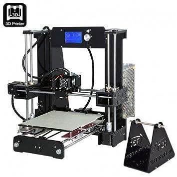 ANET A6 impresora 3D DIY Kit - Metal + acrílico marco ...