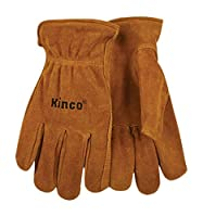 Kinco 50 Split Cowhide Leather Driver Work Glove