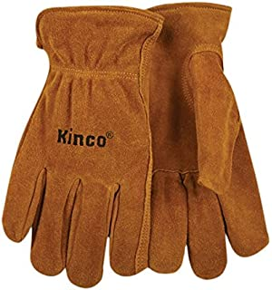 Amazon.com: Kinco 50 Split Cowhide Leather Driver Work Glove ...