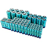 Tenergy High Capacity NiMH Rechargeable 68-cell battery package: 24AA/24AAA/8C/8D/4 9V