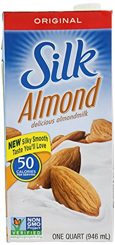 Silk Pure Almond Milk Original, 32 oz