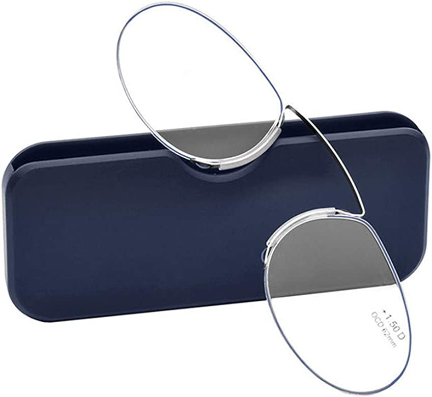 c40391f872 YUNCAT Gafas de lectura sin patillas graduadas para Unisex transparentes  flexibles e para vista cansada. 3 colores y 6 graduaciones