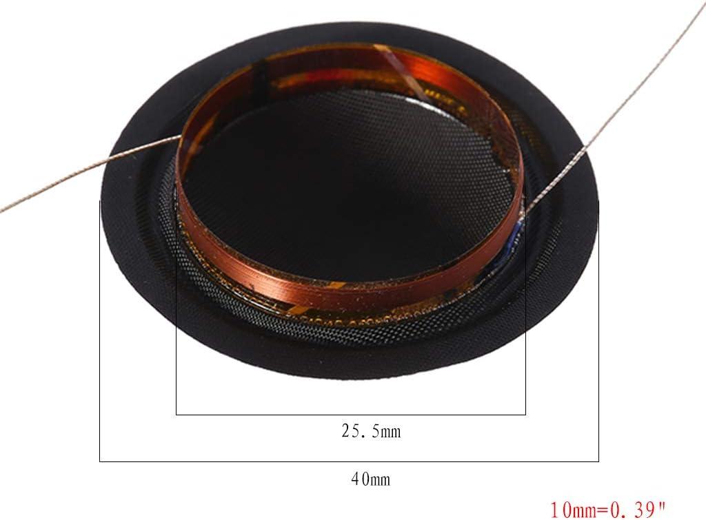 siwetg 1 Paire de bobines de Soie /à Membrane Haute qualit/é 25,5 mm