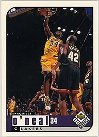 Amazon.com  1998-99 UD Choice Preview  68 Shaquille O Neal NM-MT ... ccd28c4e1