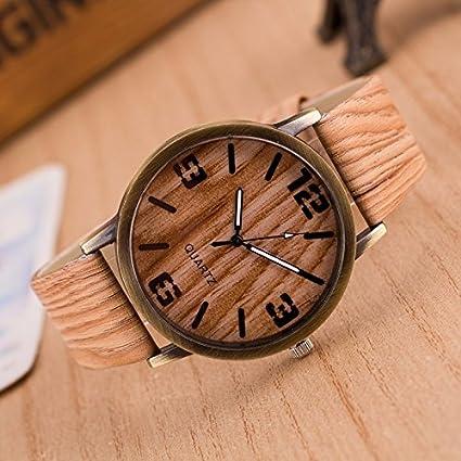 Cuatro Relojes De Moda, Relojes Antiguos De Madera De Imitación De Madera, Verde,