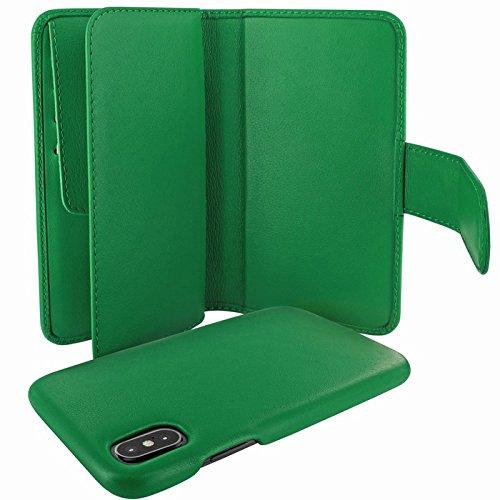 Piel Frama U793DG Case ''WalletMagnum'' for iPhone X - Green by Piel Frama (Image #4)