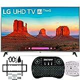 LG 55UK7700PUD 55' 4K HDR Smart LED AI UHD TV w/ThinQ (2018) + Wall Mount Bundle