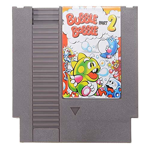 Yongse Bubble Bobble Part 2 72 Pin 8 Bit Game Card Cartridge for NES Nintendo