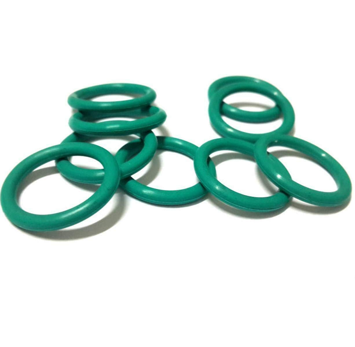 50pcs 22mm OD 19mm ID 1.5mm Dia Seal Fluorine Rubber O-Ring
