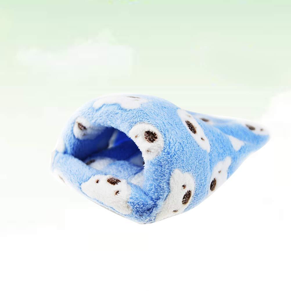 UKCOCO Saco de Dormir de Felpa Caliente para Mascotas Pequeñas ...