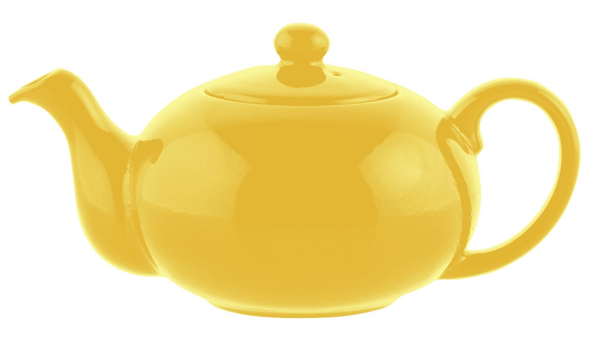 Waechtersbach Fun Factory II Buttercup Teapot, 28-Ounce 7711506015