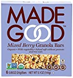 mixed made - Made Good Granola Bar Mixed Berry, 5.10oz.Case of 6 Boxes