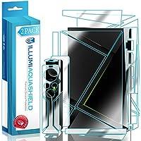 NVIDIA Shield TV Screen Protector + Back Cover (2017,2nd Gen 16GB Version)[2-Pack], ILLUMI AquaShield Full Coverage Back and Front Screen Protector for NVIDIA Shield TV HD Clear Anti-Bubble Film