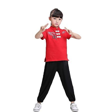 Xiao Jian Disfraz de Baile - Disfraz de Kung Fu Chino para niños ...