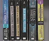 img - for Laurell K. Hamilton - Set Of 6 Books - Guilty Pleasures - Cerulean Sins - Blue Moon - Circus Of The Damned - The Lunatic Cafe - Kiss The Dead. book / textbook / text book