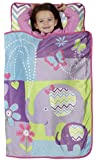 Baby Boom Toddler Nap Mat, Happy Elephant/Purple