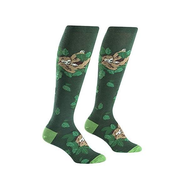 Sock It To Me Sleepy Sloth Knee High Women'S Socks -