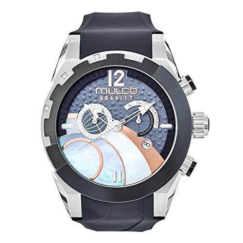 Mulco MW5-3799-023 Gravity Ios Swiss Chronograph Black Watch