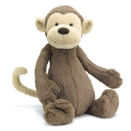 Bashful Monkey Huge - Hauteur 51 cm BAH2M
