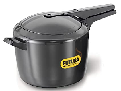 Amazon Futura Hawkins Hard Anodized 90 Litre Pressure Cooker